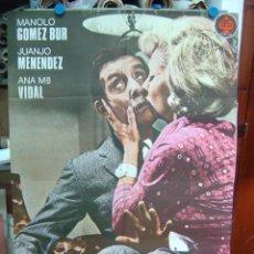 Cine: LA QUE ARMAN LAS MUJERES - MANOLO GOMEZ BUR, JUANJO MENENDEZ, ANA MARIA VIDAL - AÑO 1965. Lote 116440807