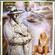 Cine: CU61 JANE EN BUSCA DE LA CIUDAD PERDIDA IMAGEN CASABLANCA RARO POSTER ORIGINAL ITALIANO 100X140. Lote 8128998