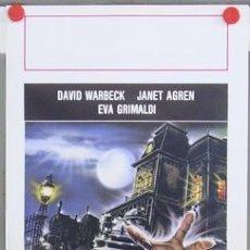 Cine: T07971 EL HOMBRE RATA JANET AGREN TERROR POSTER ORIGINAL 33X70 ITALIANO. Lote 253701900