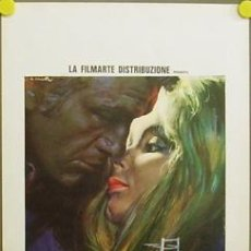 Cine: T08000 THE RAGE WITHIN TENIS ANNA GAEL POSTER ORIGINAL 33X70 ITALIANO. Lote 8186451