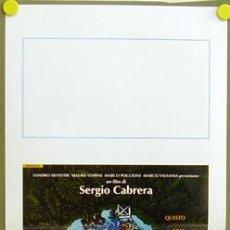 Cine: T08024 GOLPE DE ESTADIO FUTBOL SERGIO CABRERA EMMA SUAREZ POSTER ORIGINAL 33X70 ITALIANO. Lote 8187379