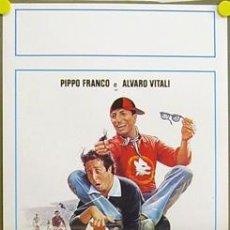 Cine: T08008 TIFOSI ARBITRO CALCIATORE FUTBOL ALVARO VITALI POSTER ORIGINAL 33X70 ITALIANO. Lote 8187434
