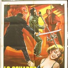 Cine: T08051D THE GORGON HAMMER CRISTOPHER LEE PETER CUSHING POSTER ORIGINAL 100X140 ITALIANO. Lote 17244781