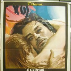 Cinema: XP47D LA PRIMERA NOCHE DE LA QUIETUD ALAIN DELON POSTER ORIGINAL ITALIANO 100X140. Lote 13930386