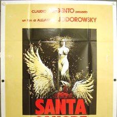 Cine: T08097 SANTA SANGRE ALEJANDRO JODOROWSKY POSTER ORIGINAL ITALIANO 140X200. Lote 20641145