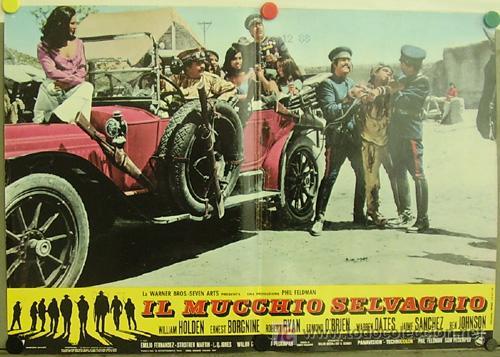 T08115 GRUPO SALVAJE SAM PECKINPAH WILLIAM HOLDEN POSTER ORIGINAL ITALIANO 47X68 (Cine - Posters y Carteles - Westerns)
