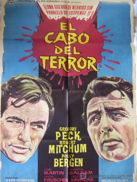 EL CABO DEL TERROR - 1962 (Cine - Posters y Carteles - Terror)