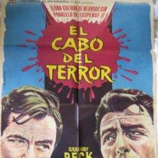 Cine: EL CABO DEL TERROR - 1962. Lote 8253057
