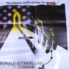 Cine: CARTEL DE CINE: LOS CRÍMENES DEL ROSARIO. AÑO 1987. Lote 8338099