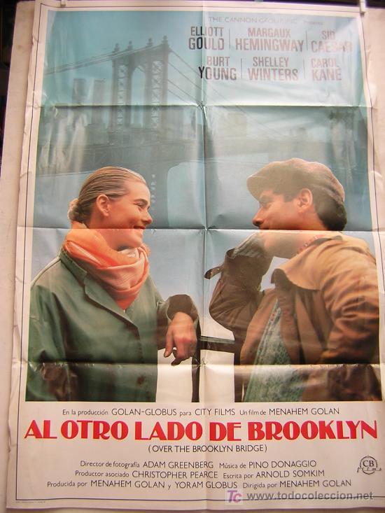 AL OTRO LADO DE BROOKLYN CON MARGAUX HEMINGWAY Y ELLIOT GOULD (Cine - Posters y Carteles)