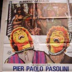 Cine: CUENTOS DE PASOLINI PRODUCIDO POR ALBERTO GRIMALDI. Lote 19703630