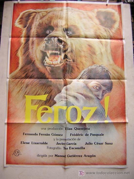 FEROZ CON FERNANDO FERNAN GOMEZ (Cine - Posters y Carteles - Clasico Español)