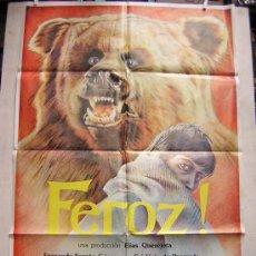 Cine: FEROZ CON FERNANDO FERNAN GOMEZ. Lote 14891849