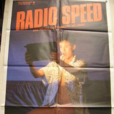 Cine: RADIO SPEED. POSTER AÑO 1986- OPAL FILMS. Lote 15044045