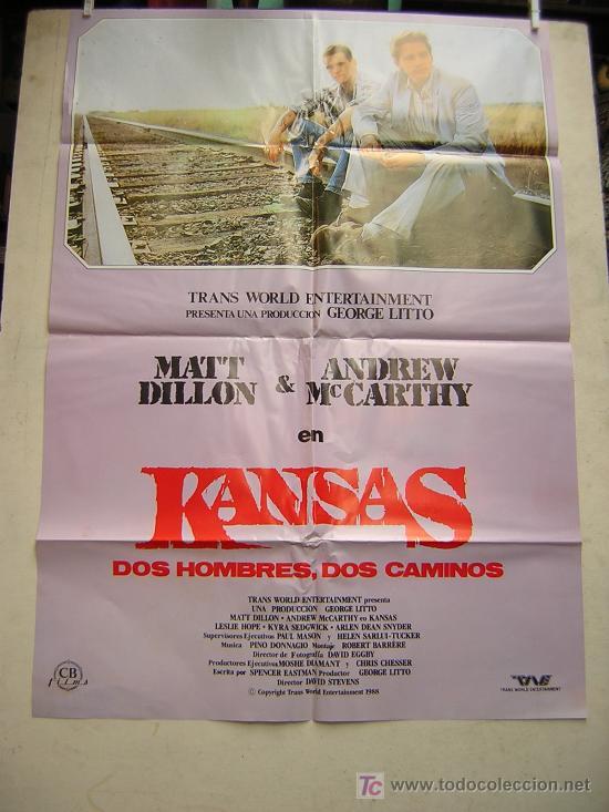 KANSAS.DOS HOMBRES,DOS CAMINOS. CB FILMS (Cine - Posters y Carteles)