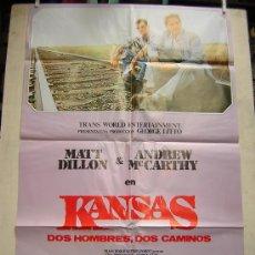 Cine: KANSAS.DOS HOMBRES,DOS CAMINOS. CB FILMS. Lote 25234480