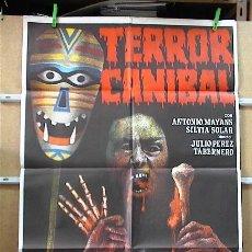 Cine: TERROR CANIBAL. Lote 17006635