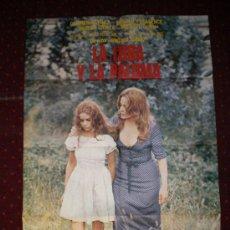 Cine: LA LOBA Y LA PALOMA (CARTEL DEL ESTRENO) CARMEN SEVILLA Y DONALD PLEASENCE. Lote 19338916