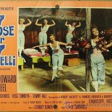 Cine: DE15 SIETE NOVIAS PARA SIETE HERMANOS STANLEY DONEN JANE POWELL SET DE 5 POSTERS ITALIANO 47X68. Lote 13970893