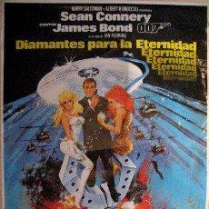 Cine: JAMES BOND. DIAMANTES PARA LA ETERNIDAD. SEAN CONNERY. 1982..ENVIO GRATIS¡¡¡. Lote 17069060