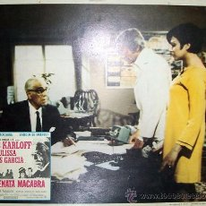 Cine: BORIS KARLOFF - SERENATA MACABRA - JULISSA - TERROR - ORIGINAL LOBBY CARD MEXICANO. Lote 14154671