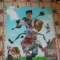 Cine: CARTEL CINE ORIGINAL - DONKEY XOTE (ANIMACIÓN - BASADA EN EL QUIJOTE) 2007. Lote 8605561