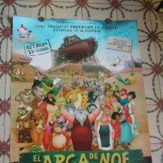 Cine: CARTEL ORIGINAL - EL ARCA DE NOE 2007 (ANIMACIÓN), DIR PABLO BUSCARINI. Lote 23775573