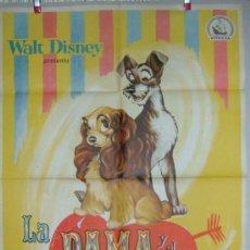 Cine: WALT DISNEY LA DAMA Y EL VAGABUNDO. Lote 15567707