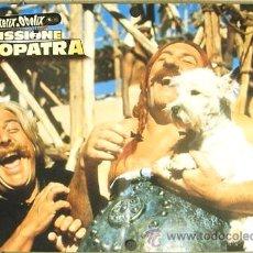 Cine: DM10 ASTERIX Y OBELIX MISION CLEOPATRA GERARD DEPARDIEU SET 6 POSTERS ORIGINALES ITALIANOS 47X68. Lote 8725022