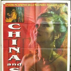 Cine: DM36 CHINA AND SEX JOE D'AMATO POSTER ORIGINAL ITALIANO 100X140. Lote 10230113