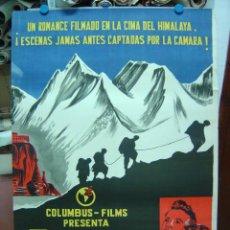 Cine: TORMENTA SOBRE EL TIBET - LITOGRAFIA - ILUSTRADOR: --, AÑO --. Lote 27096031