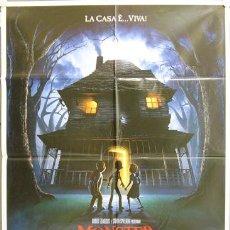 Cine: DN48 MONSTER HOUSE ANIMACION POSTER ORIGINAL ITALIANO 100X140. Lote 8763693