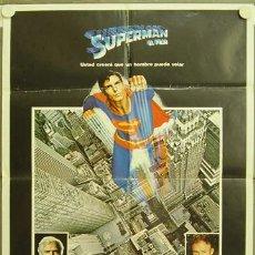 Cinéma: DQ97 SUPERMAN CHRISTOPHER REEVE POSTER ORIGINAL 70X100 ESPECIAL ESTRENO. Lote 8900838