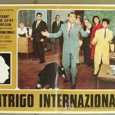 Cine: DR44 CON LA MUERTE EN LOS TALONES ALFRED HITCHCOCK CARY GRANT POSTER ITALIANO 47X68. Lote 8924864