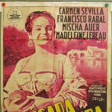 Cine: DQ55 LA PICARA MOLINERA CARMEN SEVILLA CIFESA POSTER ORIGINAL 70X100 ESTRENO LITOGRAFIA. Lote 18063103
