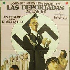 Cine: DQ96 LAS DEPORTADAS DE LAS SS SEXPLOITATION POSTER ORIGINAL ESTRENO 70X100. Lote 8913175