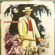 Cine: CCJ DS29 LA ESCLAVA LIBRE CLARK GABLE YVONNE DE CARLO MONTALBAN POSTER ORIGINAL 70X100 ESTRENO. Lote 16839591