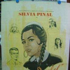 Cine: MARIA ISABEL - AÑOS 50 - CARTEL MEXICANO - SILVIA PINAL, JOSE SUAREZ. Lote 8986136