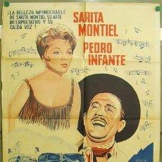 Cine: DT22 VUELVE MARTIN CORONA SARA MONTIEL PEDRO INFANTE POSTER ORIGINAL ARGENTINO 75X110 LITOGRAFIA. Lote 13565829