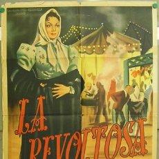Cine: DT25 LA REVOLTOSA CARMEN SEVILLA TONY LEBLANC POSTER ORIGINAL ARGENTINO 75X110 LITOGRAFIA. Lote 16163548