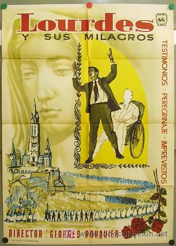 DT81 LOURDES Y SUS MILAGROS DOCUMENTAL POSTER ORIGINAL 70X100 ESTRENO (Cine - Posters y Carteles - Documentales)