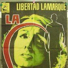 Cine: DT87 LA LOCA LIBERTAD LAMARQUE POSTER ORIGINAL 70X100 ESTRENO LITOGRAFIA. Lote 11272593