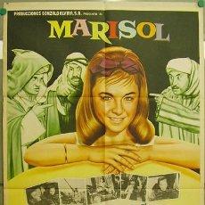 Cine: DT96 TOMBOLA LOS ENREDOS DE MARISOL POSTER ORIGINAL 70X94 MEJICANO. Lote 17578946