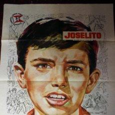 Cine: JOSELITO EN AMERICA (CARTEL ORIGINAL DEL ESTRENO) JOSELITO. Lote 21408003