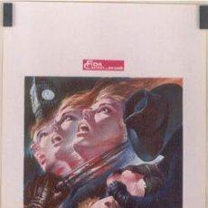 Cine: DX57 JACK EL DESTRIPADOR DE LONDRES PAUL NASCHY POSTER ORIGINAL 33X70 ITALIANO. Lote 253701985