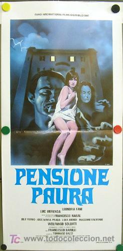 WT45D LA VIOLACION DE LA SEÑORITA JULIA GIALLO POSTER ORIGINAL 33X70 ITALIANO (Cine - Posters y Carteles - Terror)