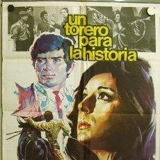 Cine: EC17 UN TORERO PARA LA HISTORIA JOSE LUIS GALLOSO DOLORES VARGAS TOROS POSTER 70X100 ESTRENO. Lote 9250693
