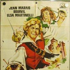 Cine: EC58 EL CAPITAN JEAN MARAIS BOURVIL ELSA MARTINELLI POSTER ORIGINAL ESTRENO 70X100. Lote 9257488
