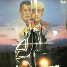 Cine: CARTEL DE CINE: LA GUERRA DE LOS LOCOS.. Lote 9299975
