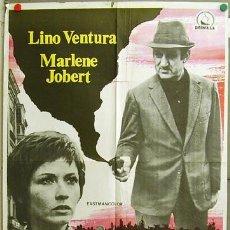 Cine: EZ49 ULTIMO DOMICILIO CONOCIDO LINO VENTURA MARLENE JOBERT POSTER ORIGINAL 70X100 ESTRENO. Lote 9447395
